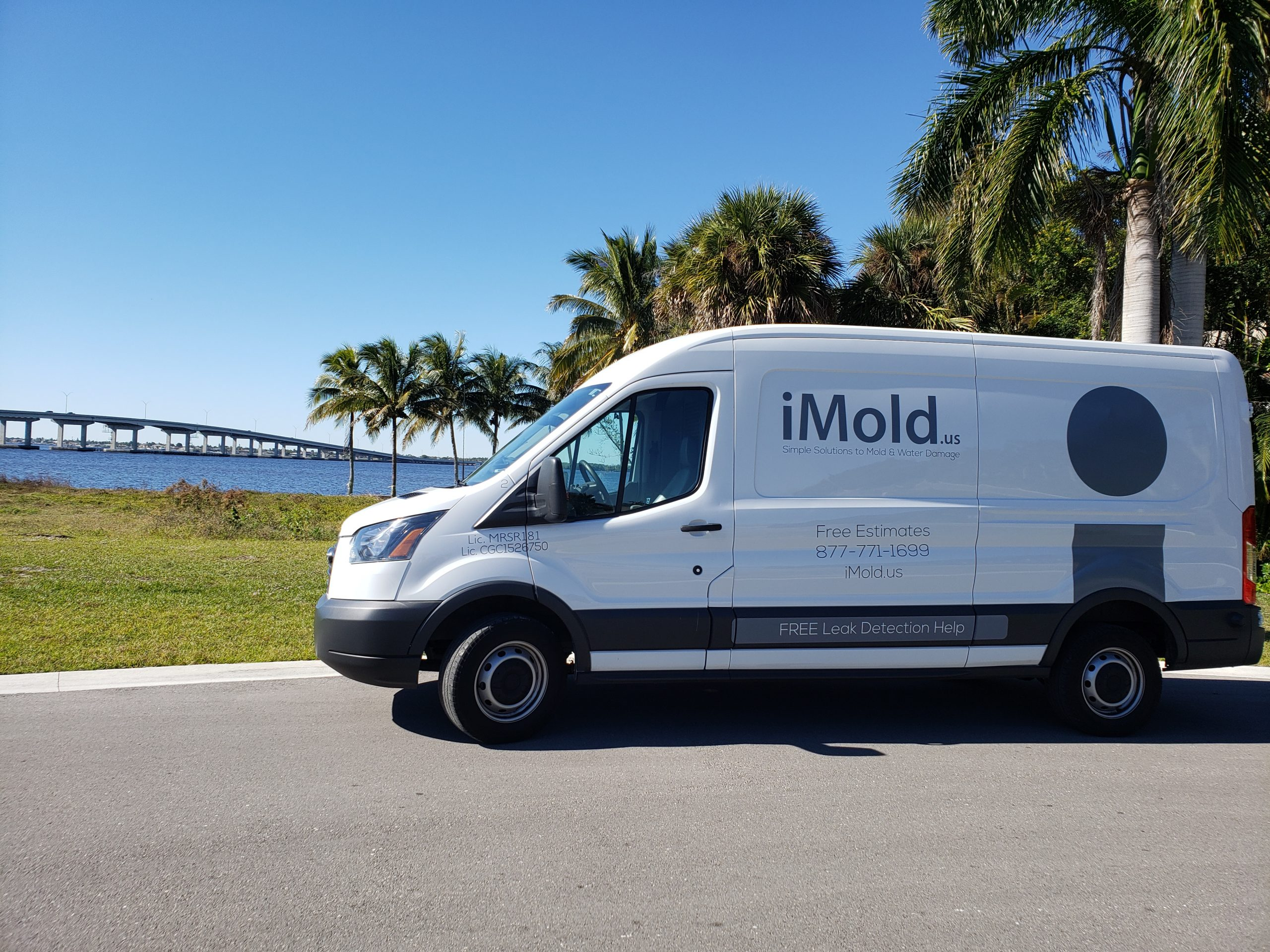 One of our iMold vans
